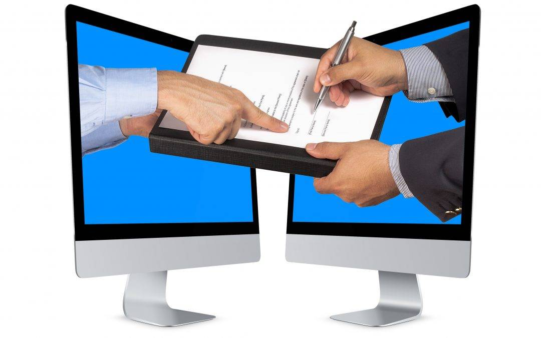 Property transactions made easy – electronic signatures now possible