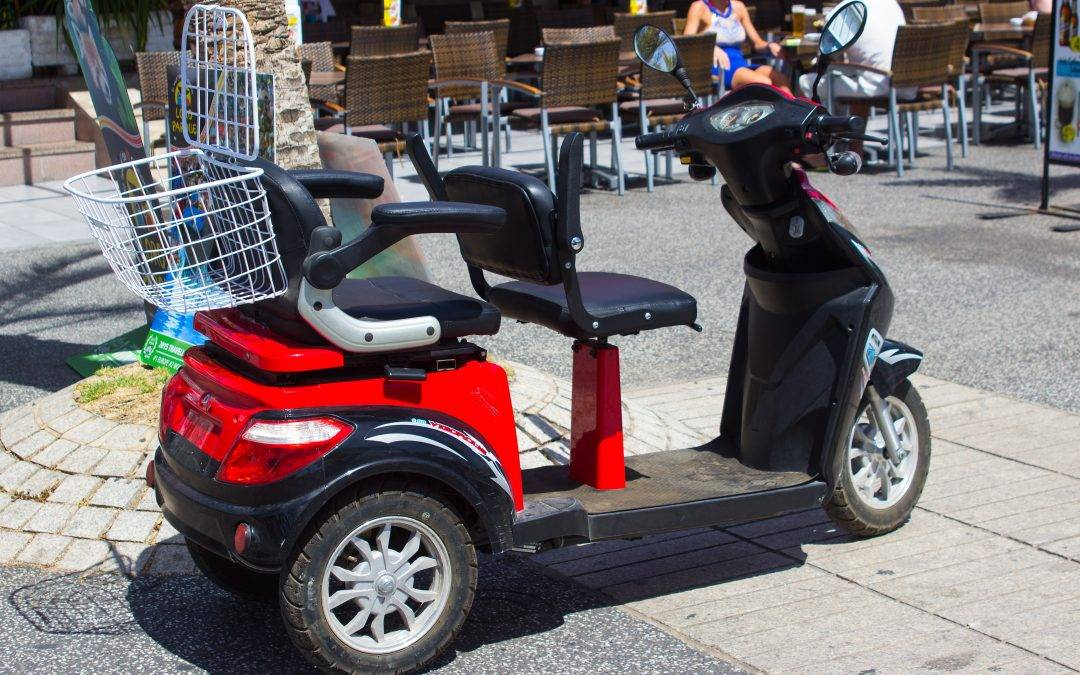 Have you been hit by a mobility scooter in a shopping centre?