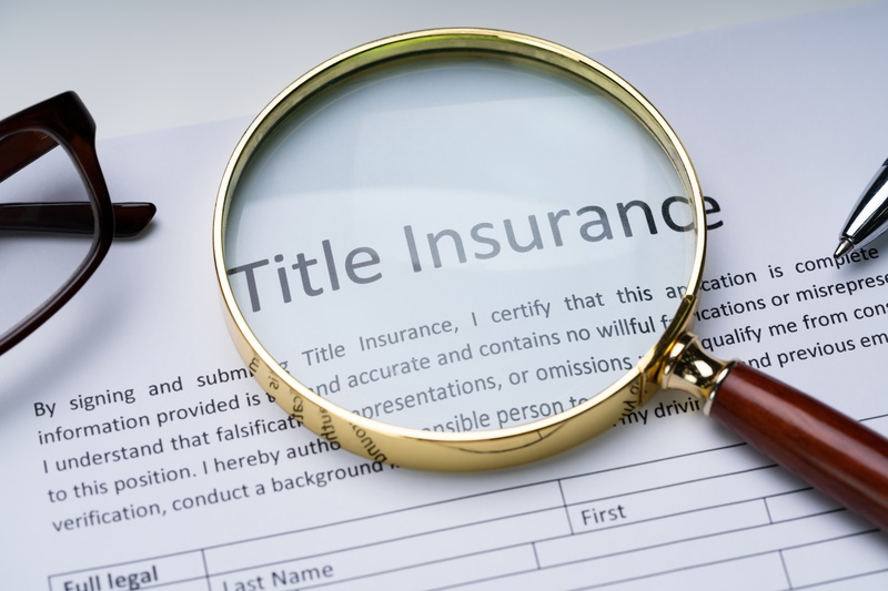 Do I need title insurance when buying a property?