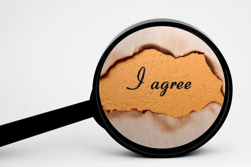 Click-wrap agreements: will I be bound if I didn't read it?
